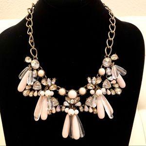 SUGARFIX/BAUBLEBAR pink bling Statement necklace